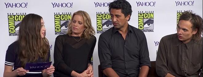 [VÍDEO] Entrevista do elenco de FTWD para Yahoo
